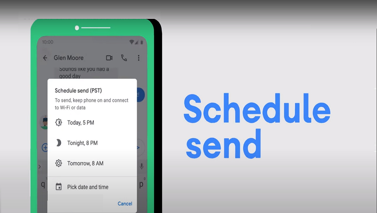 Photo of Google Messages Officially Release Schedule Messages Feature