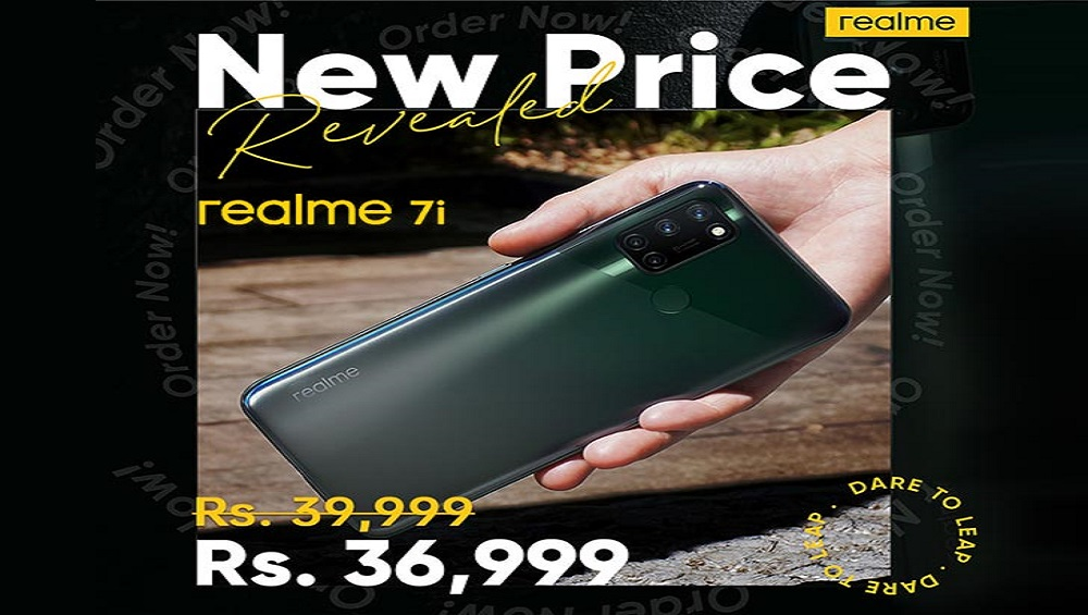 Realme 7i Price Slashed by Rs. 3000 in Pakistan