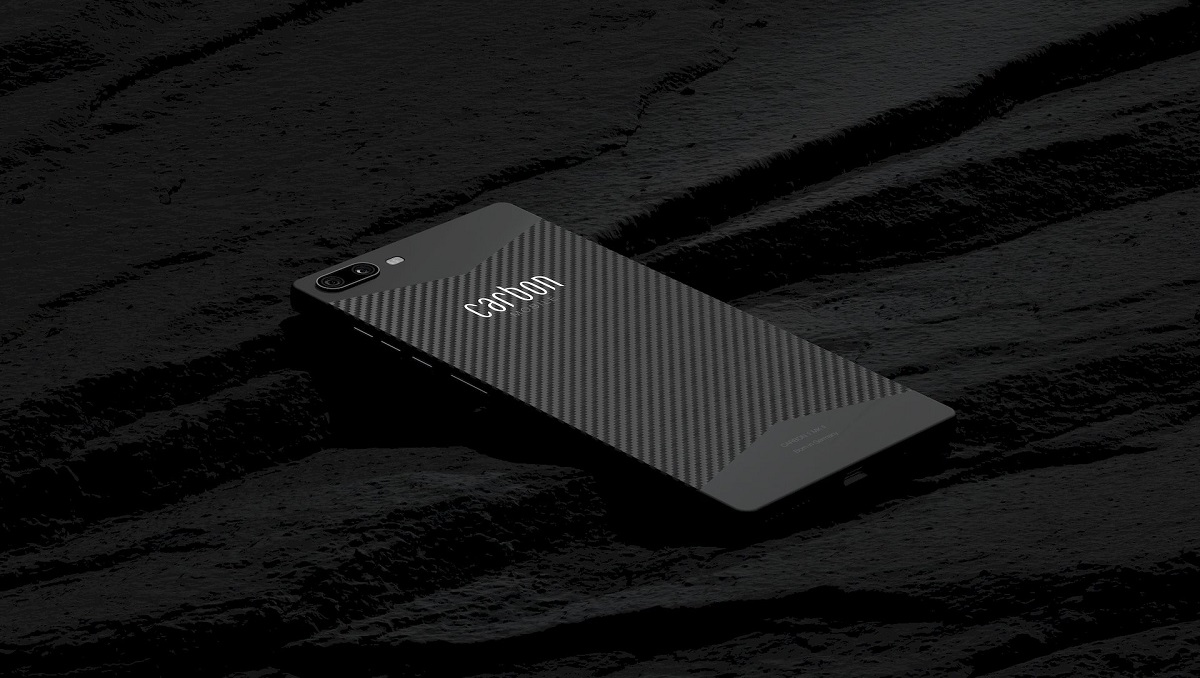 Photo of Carbon 1 MK II is First Phone in the World with a Carbon Fiber Monocoque