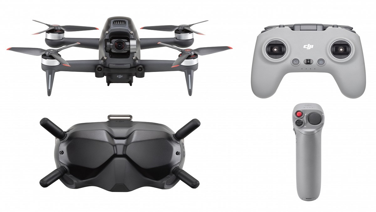 DJI FPV: A First Person Hybrid Drone