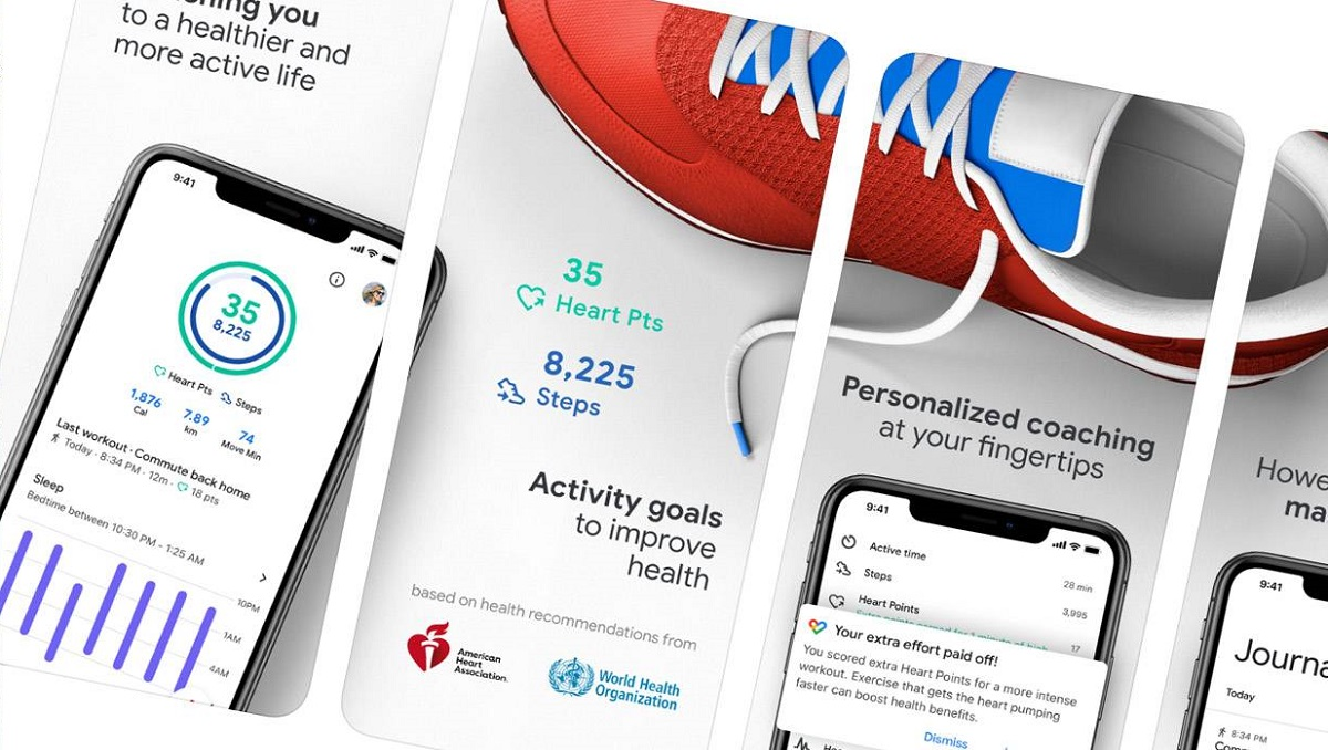 Google Fit heart rate