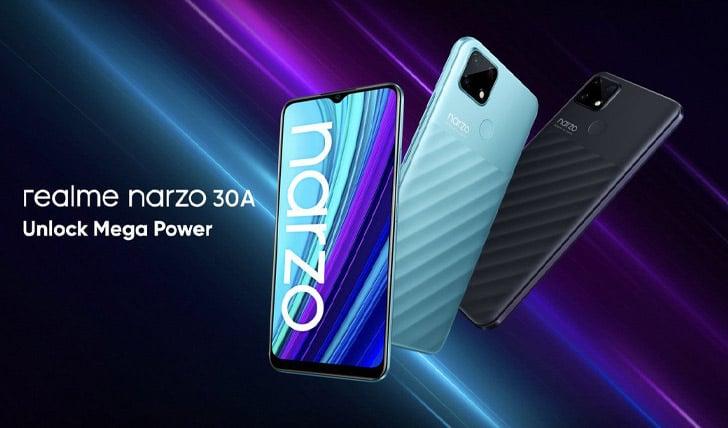 Narzo 30A Design
