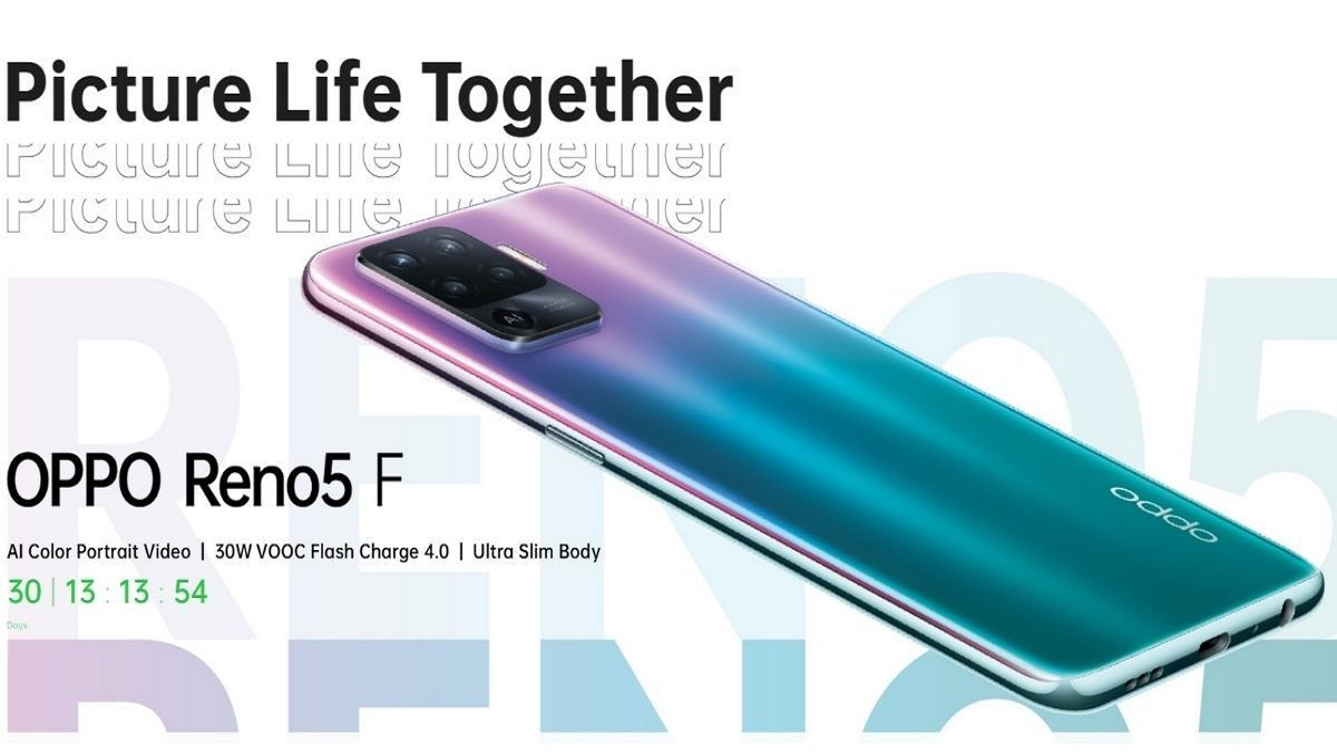 Oppo Reno5 F is Now Official