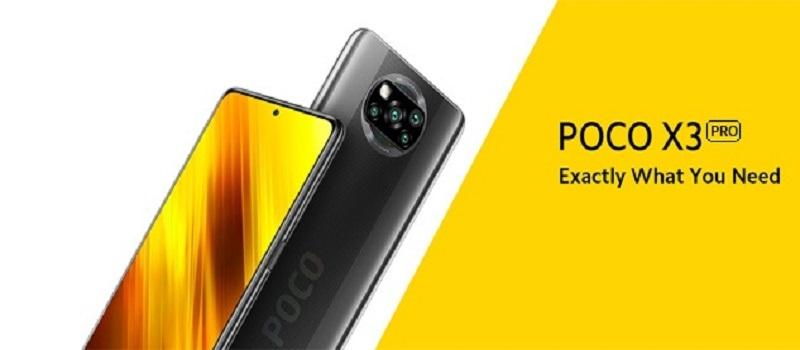 Poco X3 Pro version