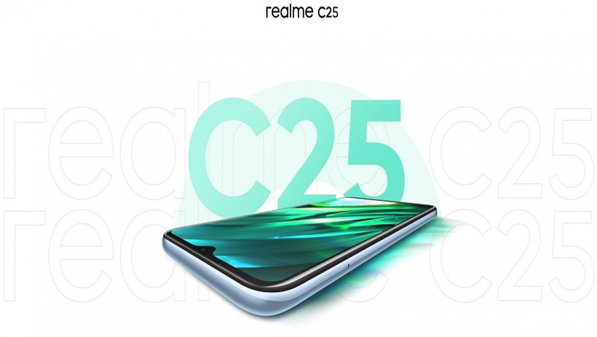 Realme C25 to Arrive on March 23