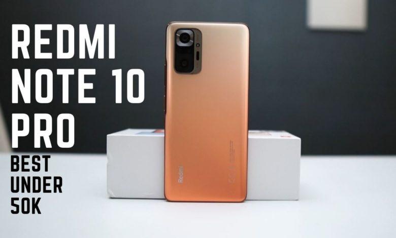 Redmi note 10 Pro best under 50K second