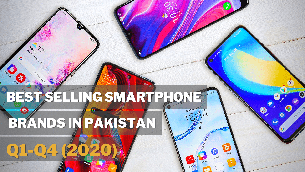 Photo of Smartphone Brand Share in Pakistani Market (2020)