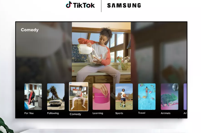 Photo of TikTok App will now available on Samsung Smart TV