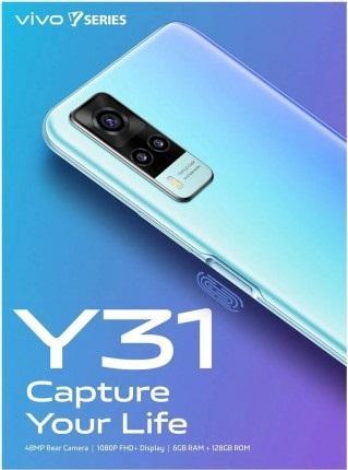 Vivo Y31 Camera