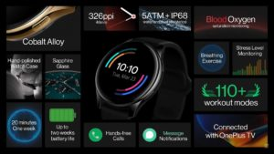 OnePlus Watch Features
