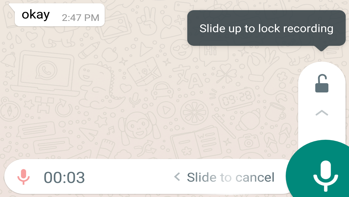 WhatsApp Brings New Animation for Voice Messages