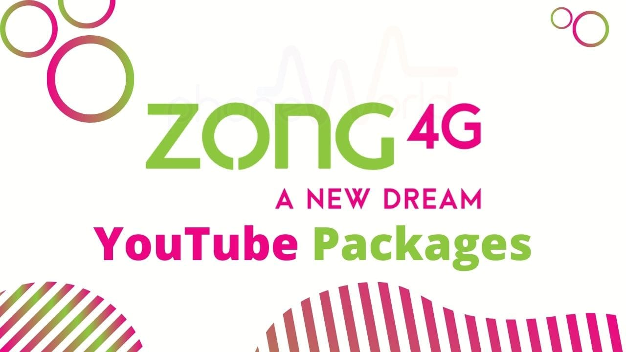 Zong Youtube Packages
