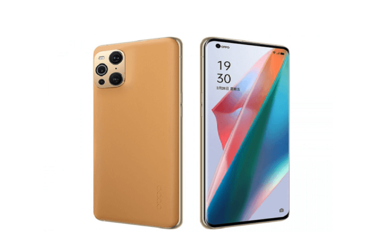 Oppo Introduces Find X3 Pro in Cosmic Mocha color