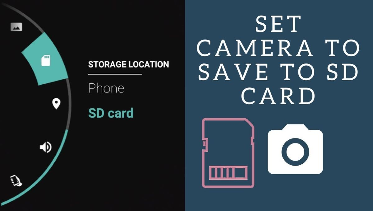 save photos to SD card