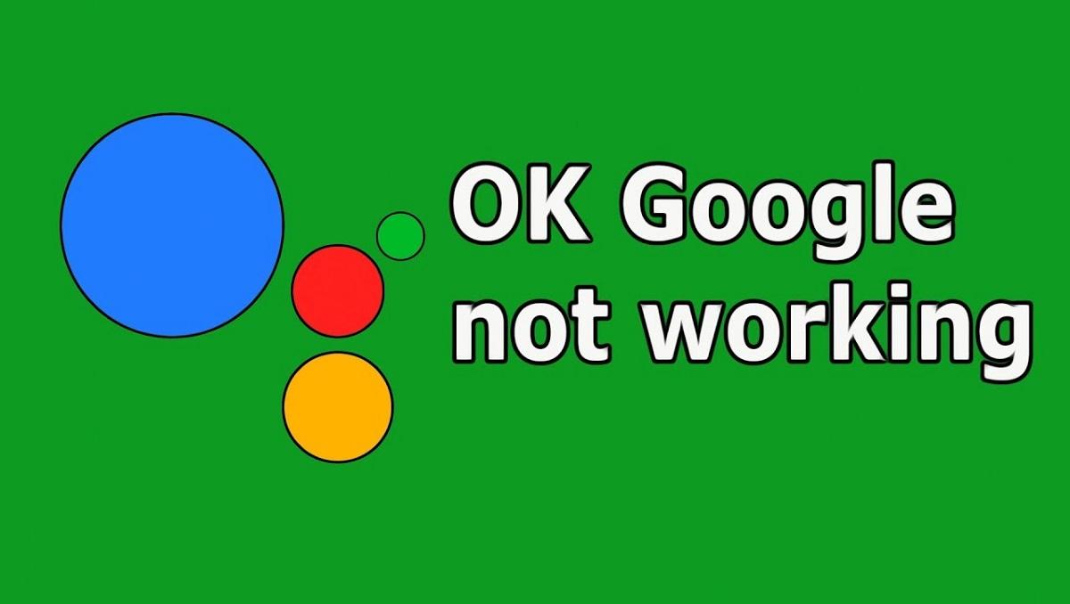 'ok google' not working