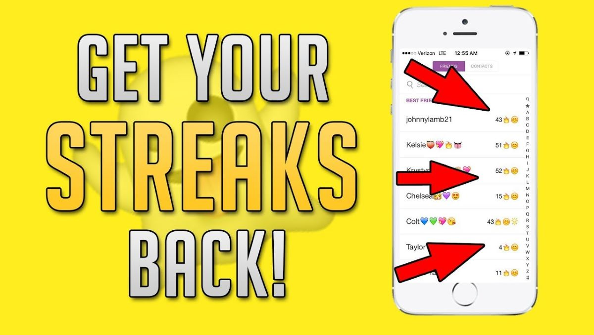 Streaks snapchat meaning