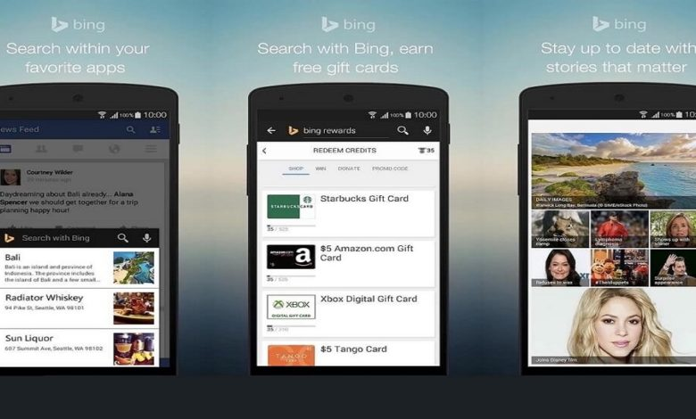 Bing Search App for Android Updated with new Features