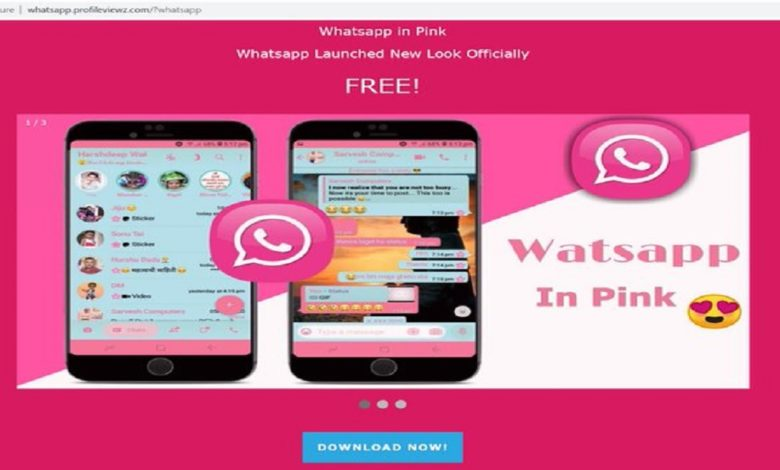 BEWARE! WhatsApp Pink App can Steal your Data and Credentials