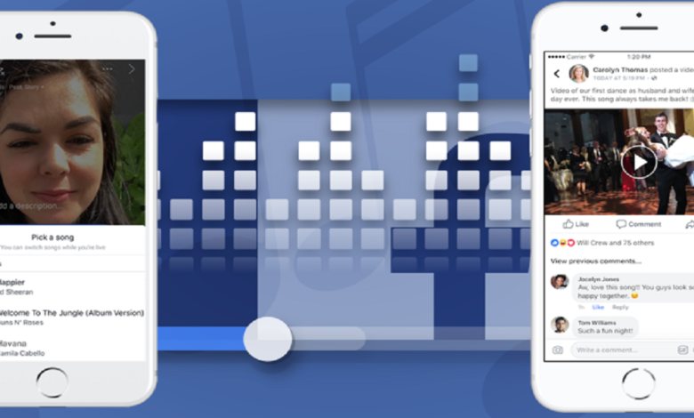 Users will be Able to Listen Music on Spotify within Facebook Mobile Apps