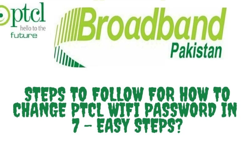 PTCL Router Password