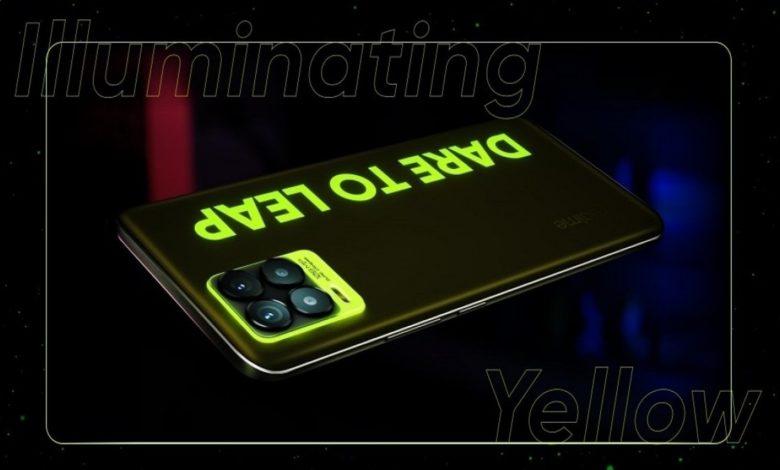 Realme 8 Pro Yellow
