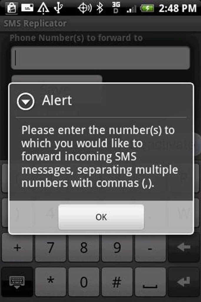 illegal SMS apps