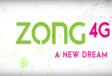 Share balance on Zong