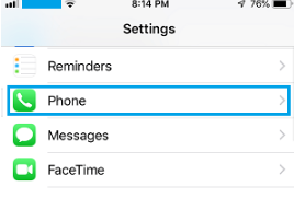 How to see the blocked numbers on an iPhone