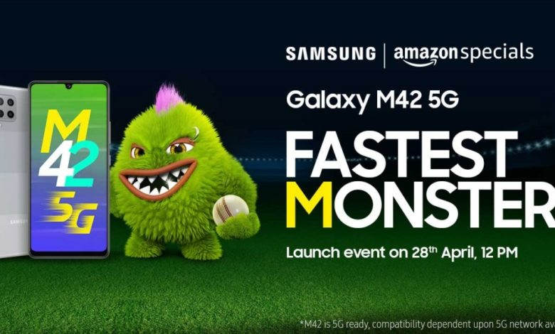 Here's the Launch Date of Samsung Galaxy M42 5G