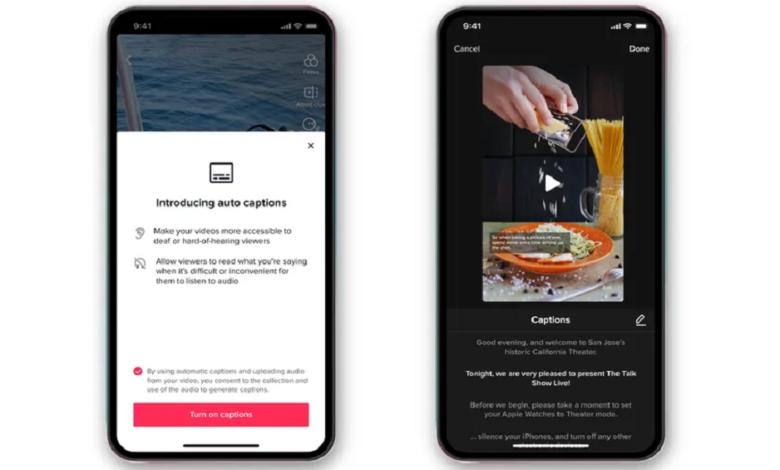 TikTok Brings Automatic Captions to Videos