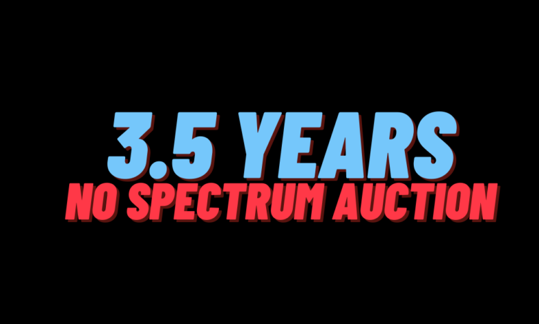 PTA Failure to Conduct Spectrum Auction in last 3.5 Years blamed for QoS Deterioration