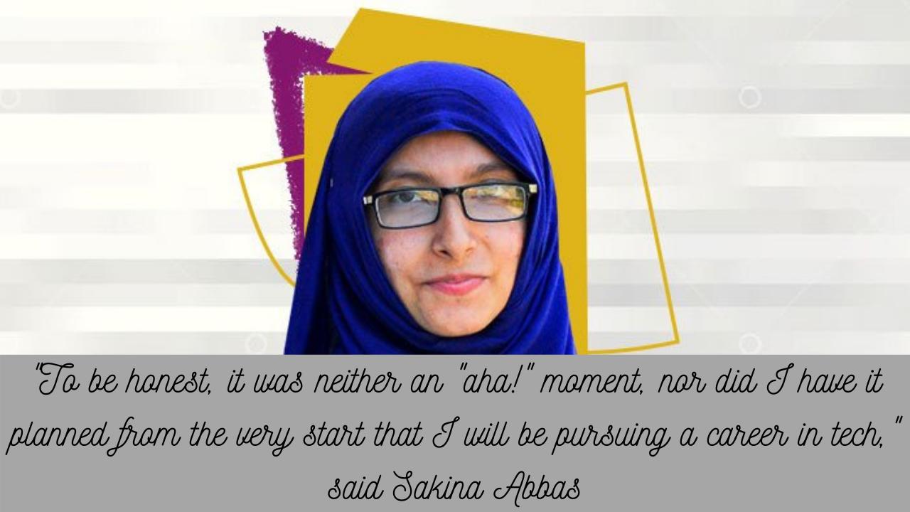 Pakistan's first female Google Developers Expert for Flutter, Sakina Abbas