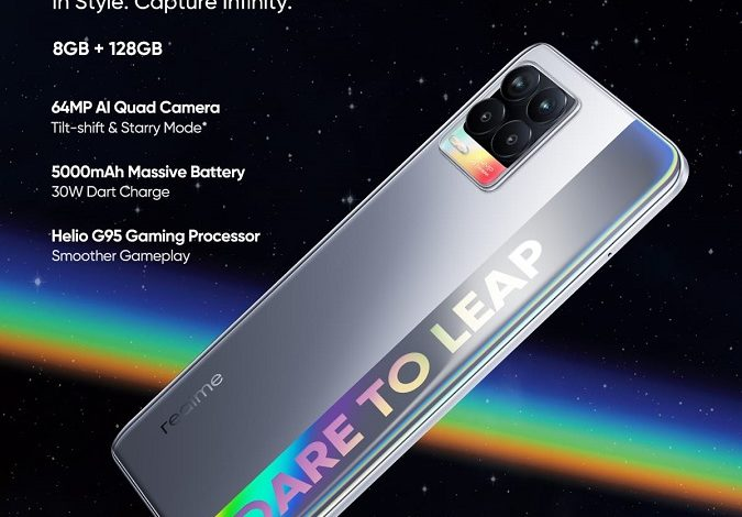 realme 8 comes as The Best Gaming Phone with MediaTek Helio G95