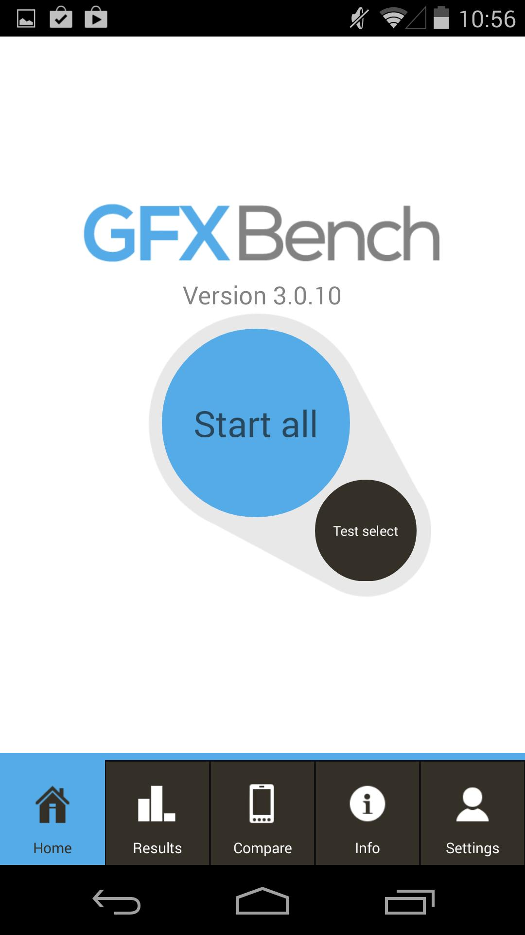 benchmark apps for iOS