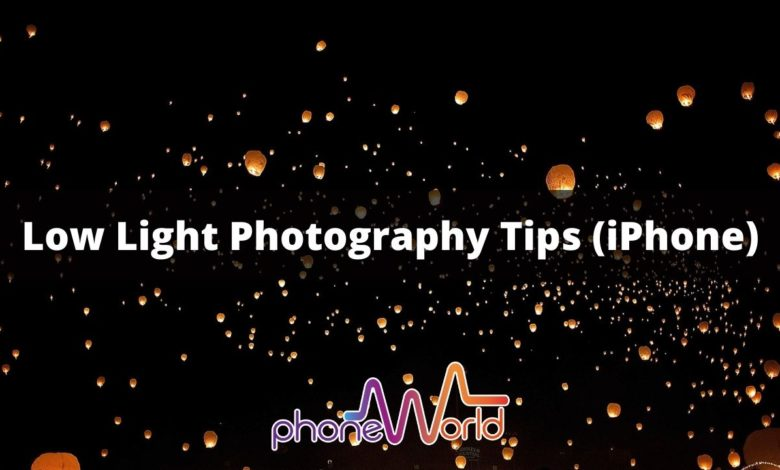 How to Take Pictures in Low Light with an iPhone