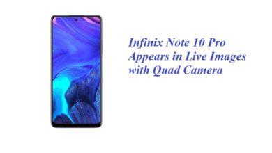 Infinix Note 10 Pro Live Images