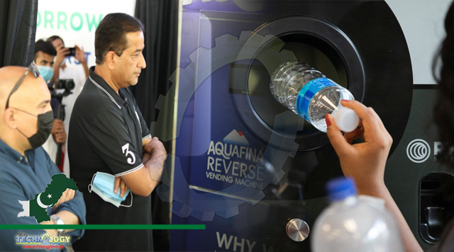 Reverse Vending Machine Launched at Islamabad