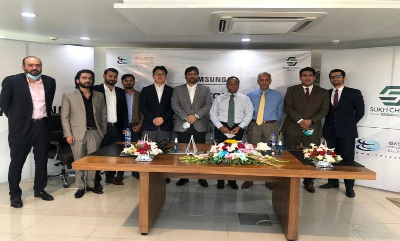 Samsung partners with Sukh Chayn Residences to provide complete air solution