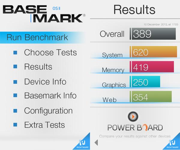 iOS benchmark apps