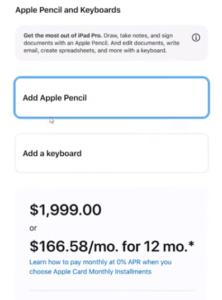 iPad Pro 2021 Configurations 3