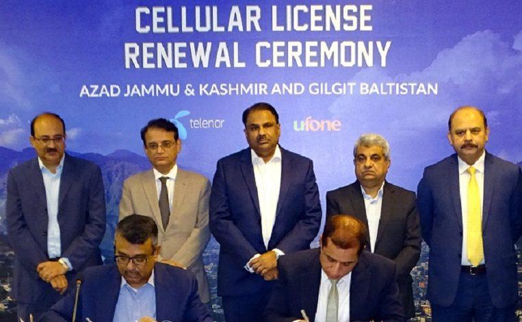 PTA Renews Cellular (NGMS) Licenses of Three Operators in AJK & GB
