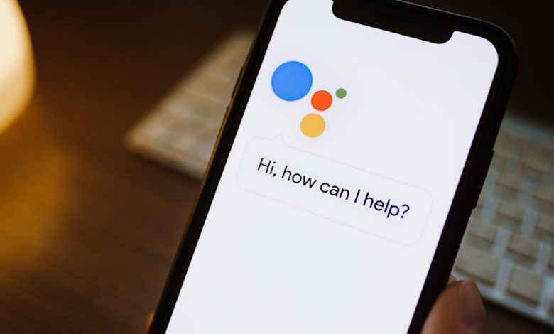 Google Assistant Replaces Dialogue Balloon having dull text with large bolded print