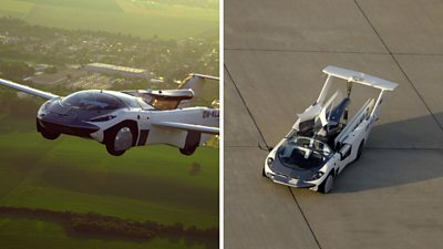 """AirCar"""" the Flying Car is now your personal private jet 2"""