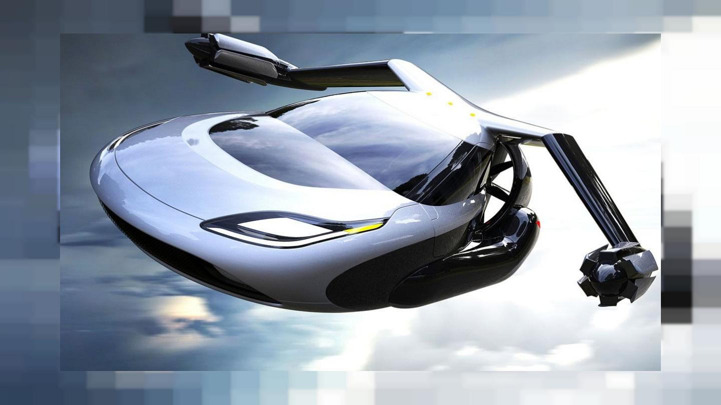 """AirCar"""" the Flying Car is now your personal private jet 1"""