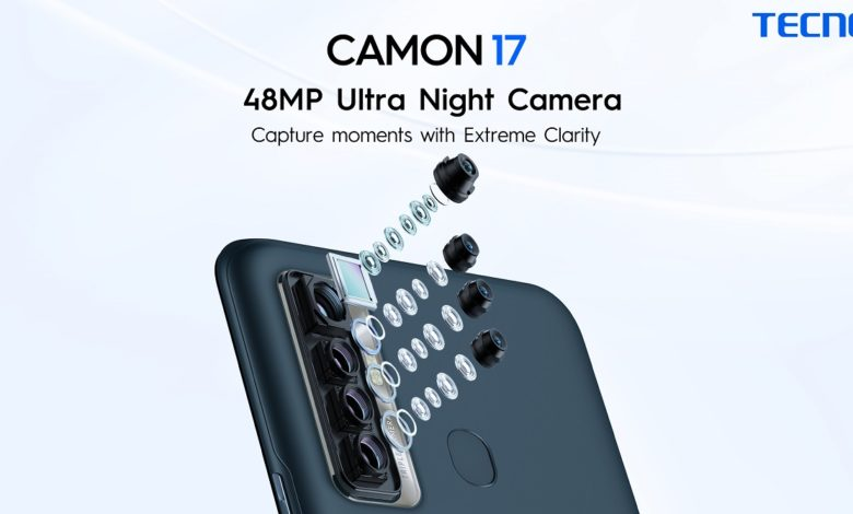 TECNO's Camon 17 is becoming the new favorite with 48MP AI Triple Camera in just PKR 24,999