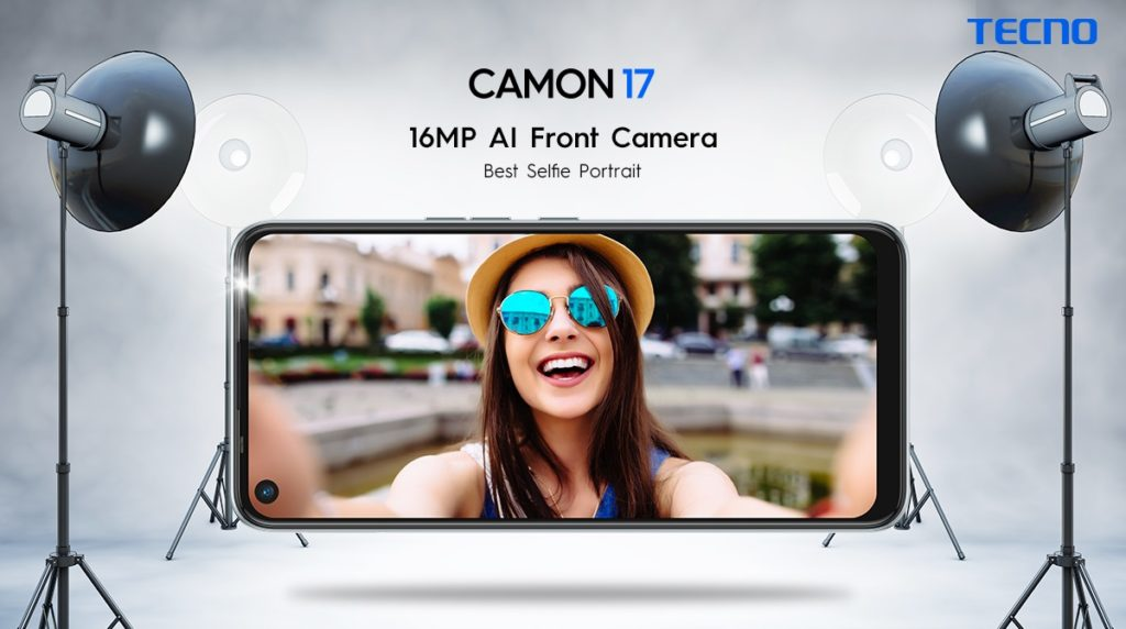 TECNO's Camon 17 is becoming the new favorite with 48MP AI Triple Camera