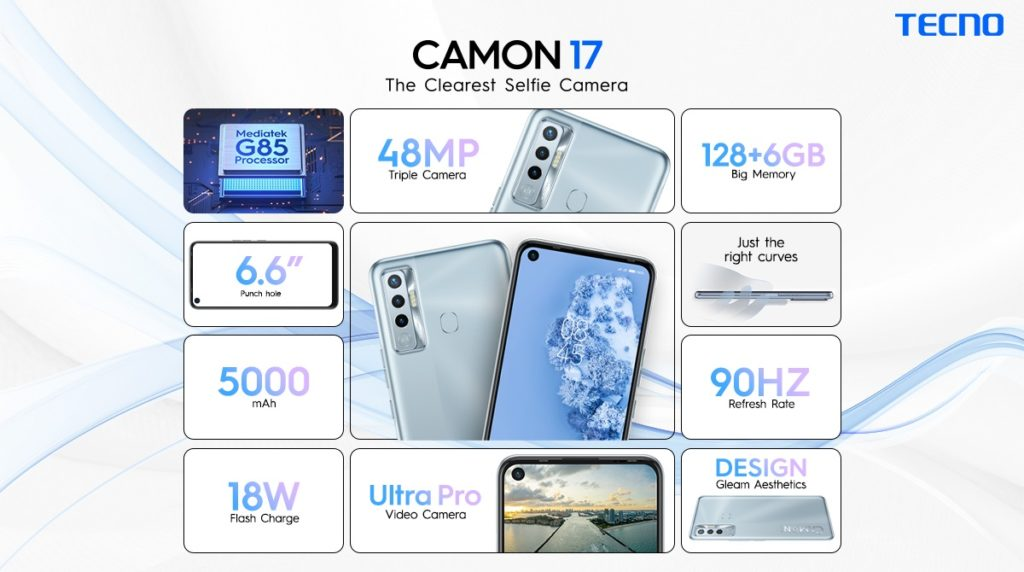 TECNO's Camon 17 is becoming the new favorite with 48MP