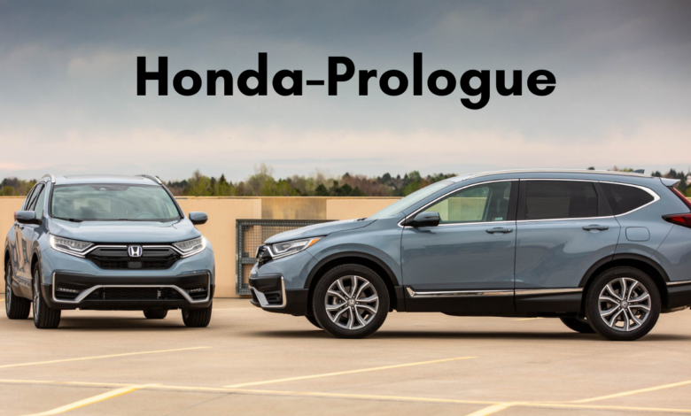 'Prologue' Honda's First Electric SUV title