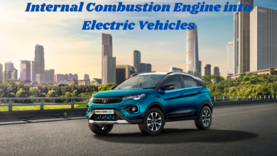 Internal Combustion Engine into Electric Vehicles