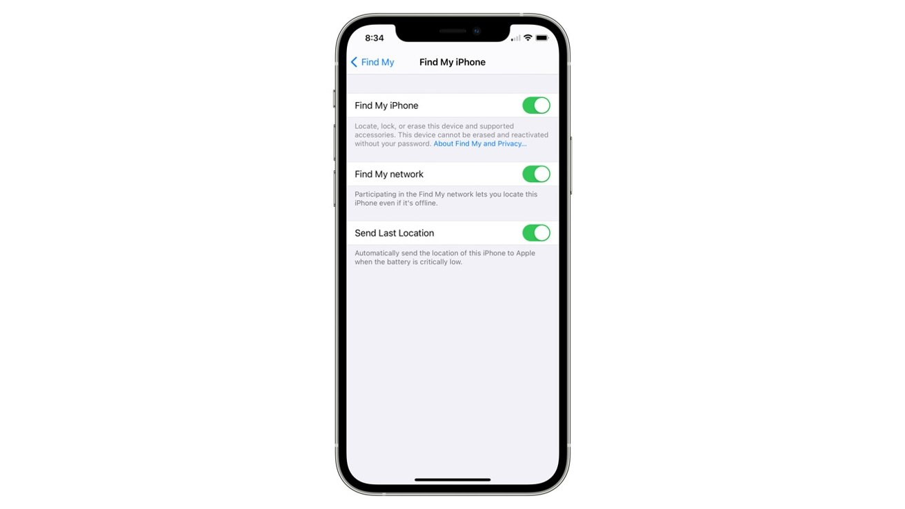 Locked Lost iPhone iOS 15 can be Tracked 2